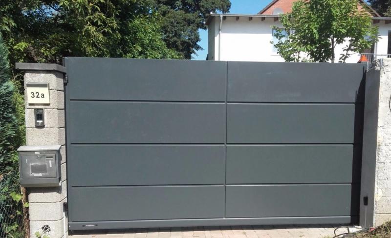 gartentor elektrisch gartentor elektrisch with gartentor. Black Bedroom Furniture Sets. Home Design Ideas